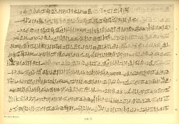 The Chester Beatty Papyri