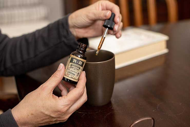 Microdosing cannabis tincture