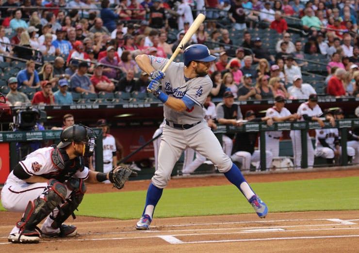 Baseball player Dodgers