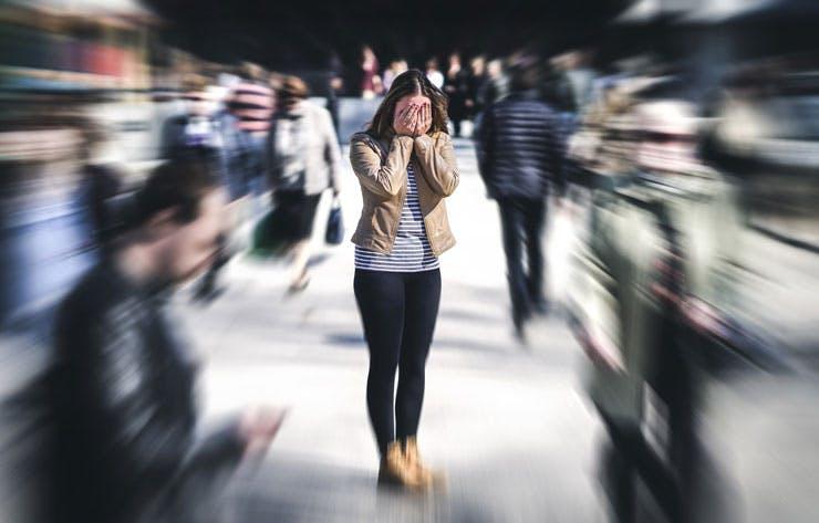 panic attack in public
