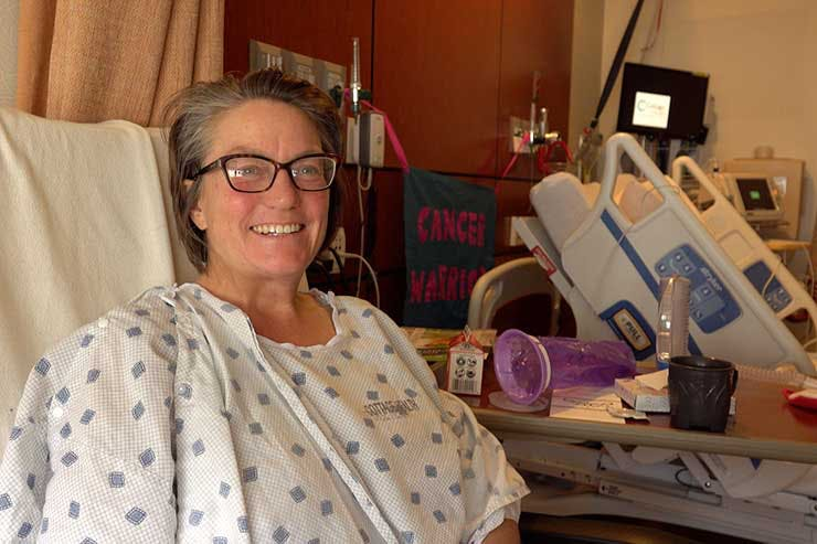 Michelle Kendall treats her ovarian cancer with cannabis
