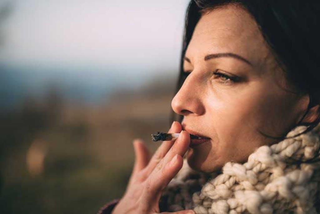 smoking medical marijuana