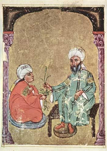 Folio from an Arabic manuscript of Dioscorides, De materia medica, 1229