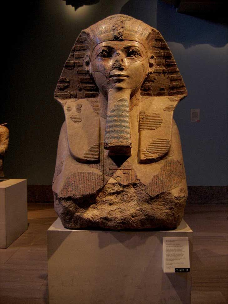 Head of a Sphinx of Hatshepsut