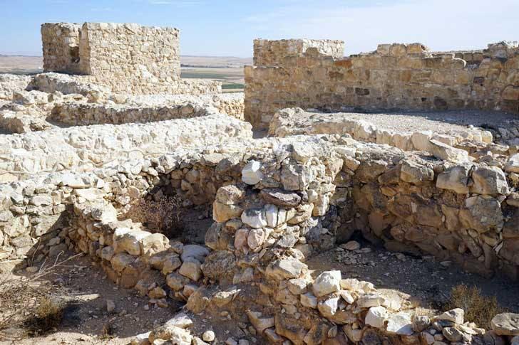 Tel Arad ruins