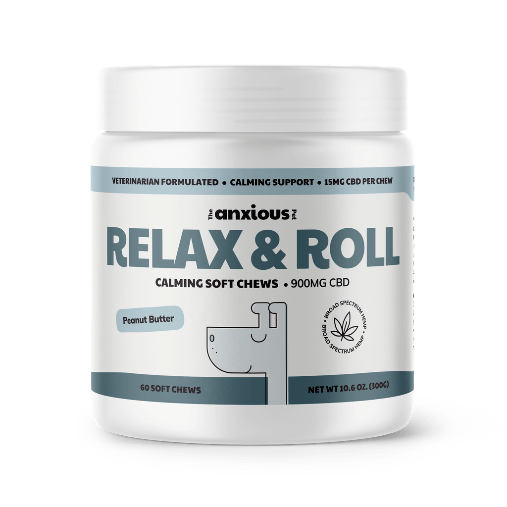 The Anxious Pet Relax and Roll Soft Chews with CBD