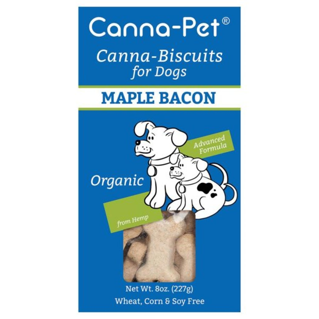 Canna-Pet's Canna-Biscuits for Dogs: Advanced MaxCBD Maple Bacon
