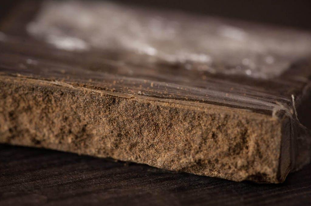 A block of hashish