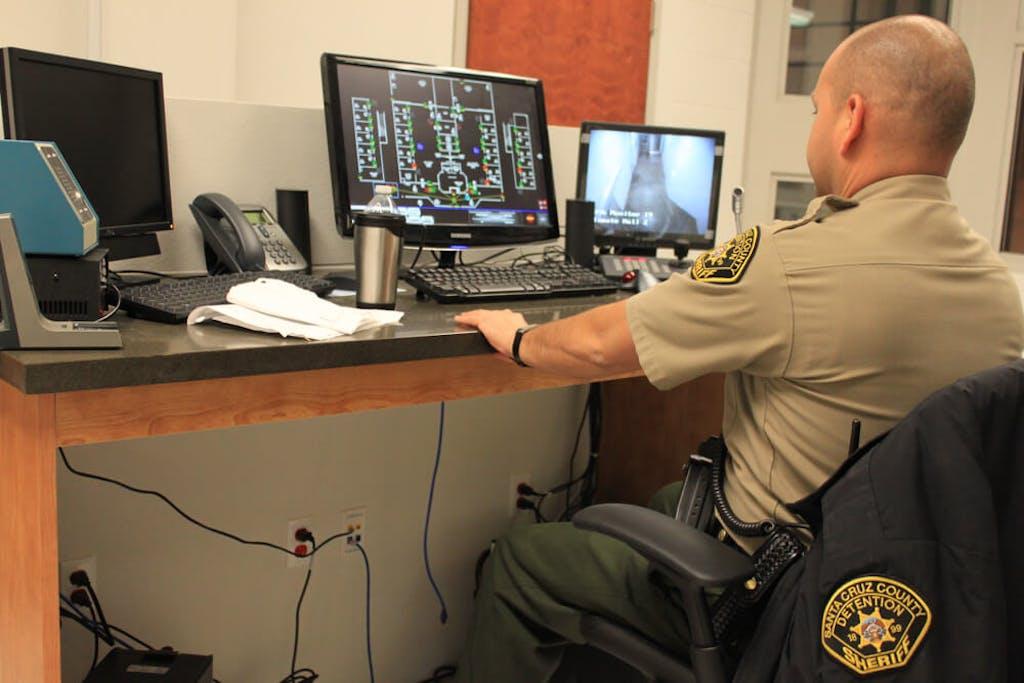 A sheriff at a prison in Arizona