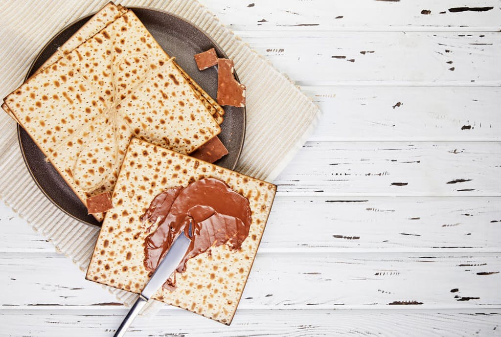 You can use cannabis infused chocolate to make a single-serving edible on matzah