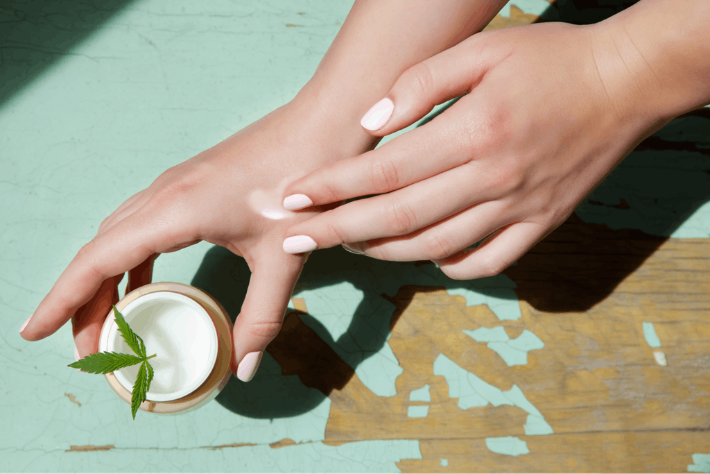 Using creams can help absorb cannabis into the skin