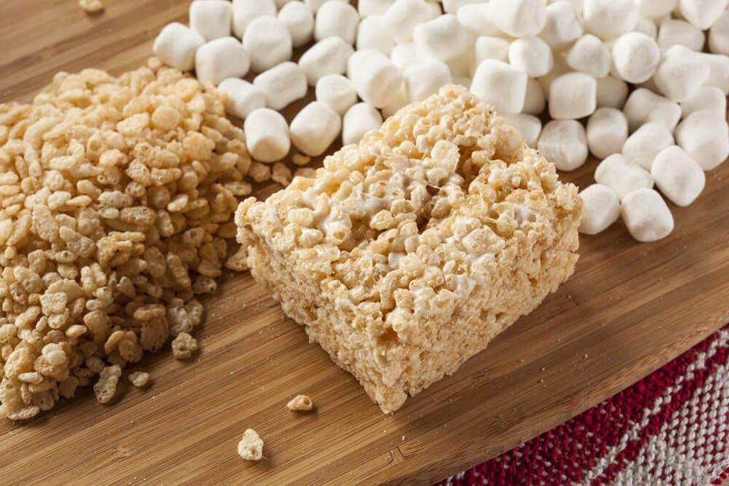 Cannabis infused Rice Krispies Treats
