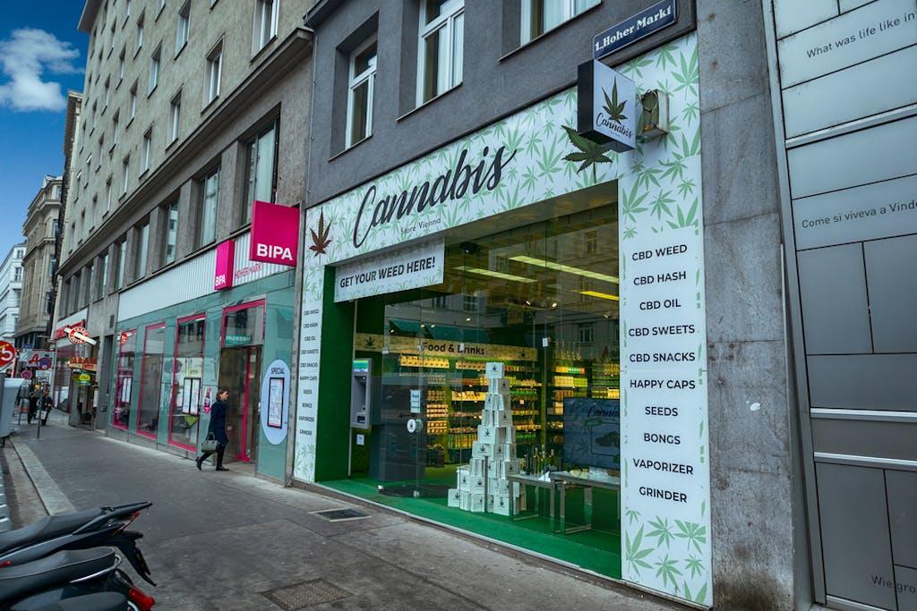 Cannabis-Cbd-Laden in Wien
