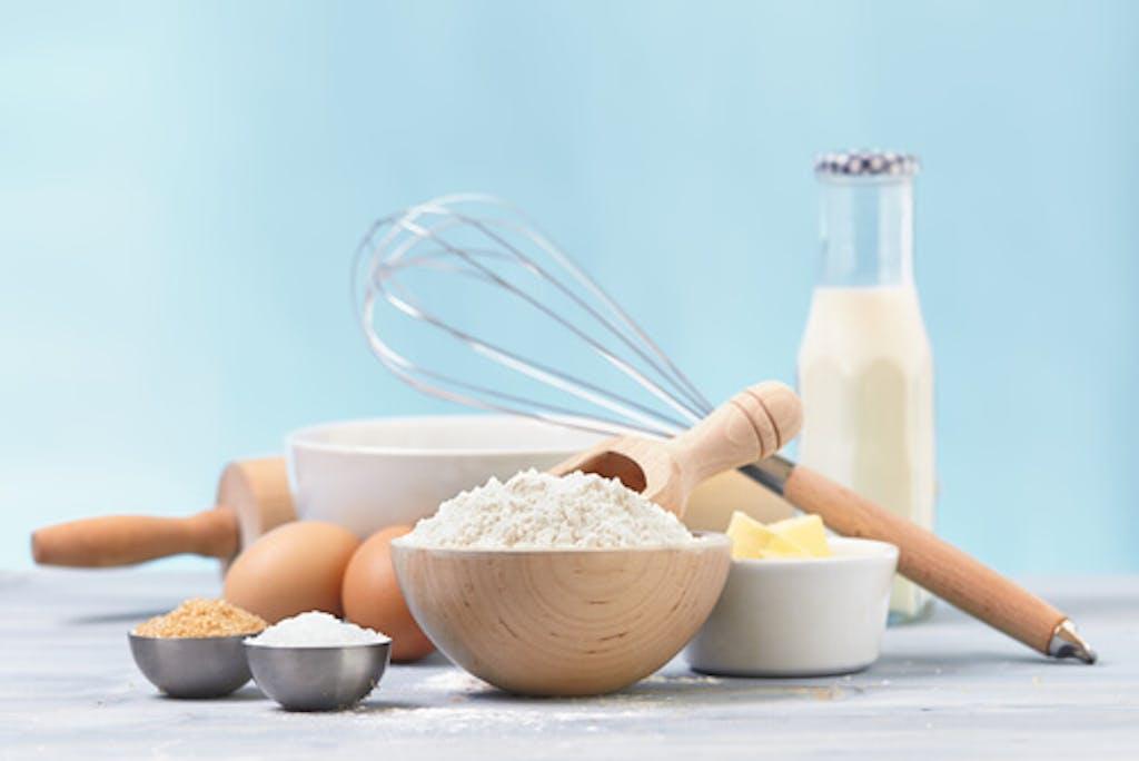 Para hacer galletas dulces solo necesitas los ingredientes básicos. (Shutterstock)