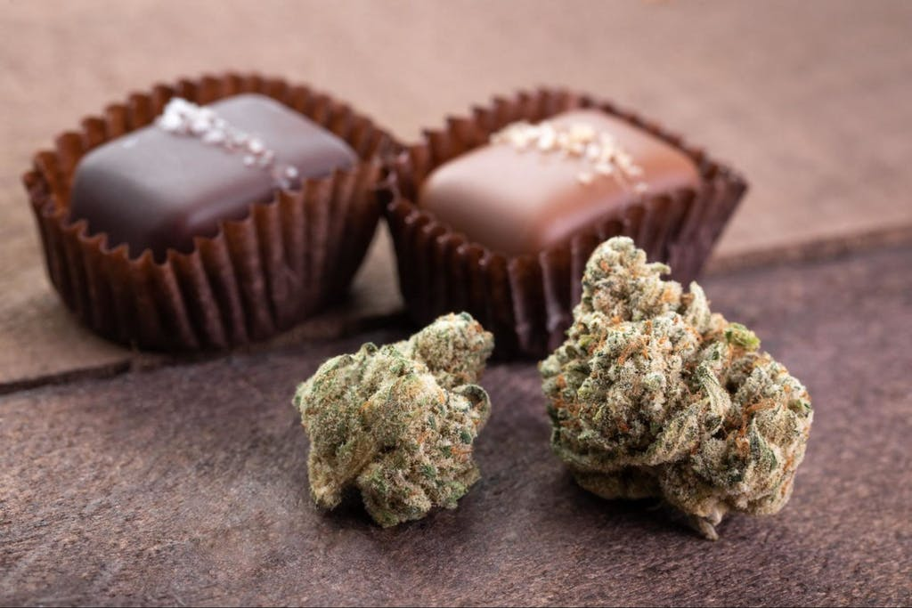 Making cannabis caramels